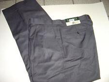 NEW MENS RALPH LAUREN GREY DRESS PANTS SIZE 36 X 30  $85