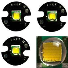LED 10W ALTA LUMINOSITA CREE XM-L T6 900-1000 Lumen BIANCO FREDDO TONDO BLACK