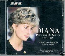 CD ALBUM-DIANA PRINCESS--BBC RECORDING FUNERAL SERVICE