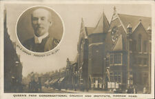 Queens Park Congregational Church & Institute, Harrow Road. Rev J Lawson Forster
