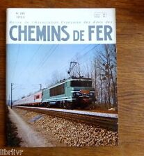 Train Chemins de fer  Service voyageur - Modélisme fonctionnant vapeur au 1/20°
