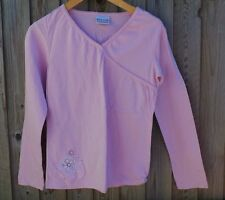 NEXT PRETTY PINK MOCK WRAP TOP age 11 years 1