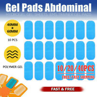 Gel Pads Replacement for ABS EMS Abdominal Stimulator Muscle Trainer Exerciser