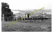 Yeo Mill Railway Station Photo. Bishop's Nymton - East Anstey. (1)