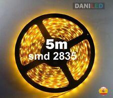 Tira Led 5M 300 led SMD 2835 NARANJA (AMBAR) INTERIOR