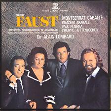GOUNOD Faust Caballé Aragall Plishka FR Press Erato STU 71031/2/3/4 boxset 4 LPs