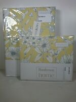 Single Duvet Cover & Pillowcase Sanderson Home Maelee Yellow Sunshine