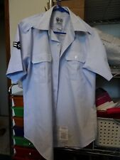 MEN'S US MILITARY AIR FORCE DRESS SHIRT SIZE 16 1/2
