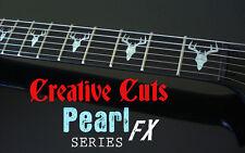 Elk Head James Hetfield ESP EX MOP Fret Markers Vinyl Inlay Decal for ANY GUITAR