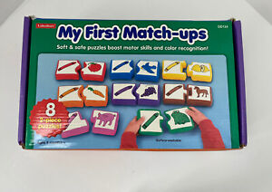 Lakeshore Learning My First Match-Ups 2 Piece Puzzles Soft Safe 6 Mos+ DD124
