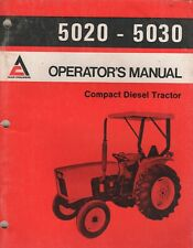 1979 ALLIS-CHALMERS COMPACT DIESEL TRACTOR 5020-5030 OPERATOR'S MANUAL (666)