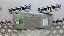 2010 FIAT PUNTO EVO  SUN VISOR RIGHT SIDE RHD LIGHT GREY COLOUR