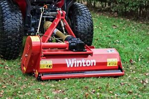 WCF105 - Winton Compact Flail Mower - 1.05m Wide - For Compact Tractors