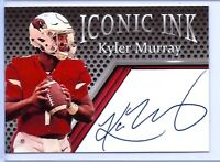 KYLER MURRAY 2019 ICONIC INK AUTOGRAPHED EDITION MINT ROOKIE CARD! HEISMAN!