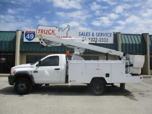 2009 Dodge Ram 5500 42' Reach Bucket Truck