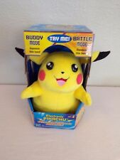 electronic pikachu with thunder strike attack