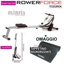 TOORX - ROWER FORCE - VOGATORE ROWER MAGNETICO SalvaSpazio + OMAGGIO TAPPETO !!