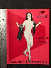 Vtg 50's Top Figure Special Ed Magazine Buxom Studies Risque Girls Girlie Pinups