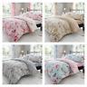 Birdie Blossom Bird Floral Floral Duvet Quilt Cover & Pillow Case Bedding Set