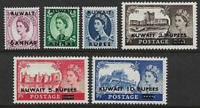 GB - QE 1952-54 High Value Overprints to 10 RUPEES *ALL MINT HINGED* (CV £50+)