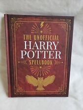 The unofficial Harry Potter Spell Book Hardback Mythical Magical Spells