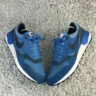 Nike Air Odyssey Mens Shoes UK 9.5 Eur 44.5 Blue Leather Running Trainers