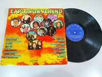 "Explosion Verano Silver Convention Luc Barreto 1975 - LP 12 "" Vinyl G VG"
