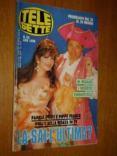 TELESETTE 1993/25=PAMELA PRATI PIPPO FRANCO=ARIANNA BERGAMASCHI=RICCHI E POVERI=