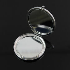 Wholesale NEW 25 blank compact cosmetic pocket mirror makeup Wedding Favor