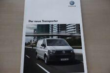 185779) VW Bus T5 Transporter Prospekt 10/2009