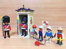 playmobil 5581 vintage victorian soldier guard children