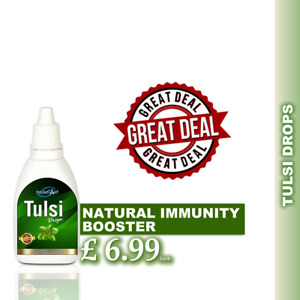 Tulsi Drops 20ml Natural Immunity Booster Healthy & Fit Body - Quick UK Dispatch