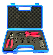 Heavy Duty Professional Crimping Tool Kit, Crimping tool,Wire Cutter,Cable Strip