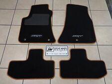 15-19 Dodge Challenger New Premium Berber Floor Mats SRT Black Sepia Mopar Oem