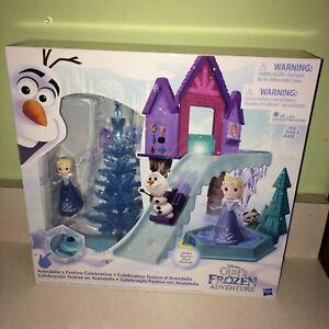 Disney Little Kingdom Arendelle's Festive Celebration Olaf's Frozen Adventure!