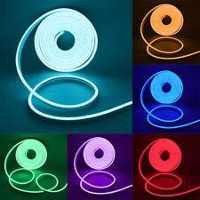 Neon LED Strip Streifen Lichtleiste Lichtband Schlauch Außen mit Fernbedienung