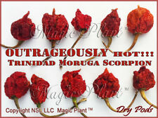Trinidad Moruga Scorpion Chili Pepper Whole Pods 8oz