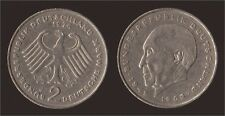 GERMANIA GERMANY 2 MARK 1974 J KONRAD ADENAUER