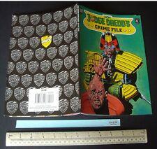 Unused & Unread Judge Dredd's Crime File #3 SF Graphic Novel Comic 1989 Titan