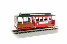 Bachmann 60535, HO Scale,  Cable Car w/Grip Man - Christmas