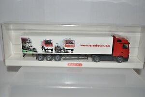 "Wiking 538 12 MB Actros Truck/Trailer ""ROSENBAUER Interschutz"" PROMO -NEW w/BOX"