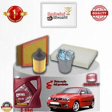 Entretien Filtres+Huile Seat Ibiza IV 1.9 Sdi 47kw 64cv à partir de 2006 ->2009