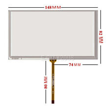 "6.1"" Resistive Touch screen Digitizer glass For A061VW01 V0 CLAA061LA0ACW New"