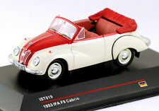 1/43 scale IST Models IST019  IFA F9 cabrio 1953 white and red NIB