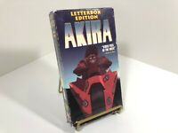 Akira Letterbox Edition VHS, 1991 Streamline Pictures - English