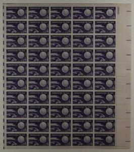 US SCOTT 1173 PANE OF 50 COMMUNICATIONS FOR PEACE 3 CENT FACE MNH