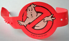 REAL GHOSTBUSTERS RED ARM BAND Vintage Proton Pack Playset Part WRISTBAND 1984