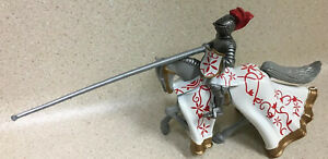 Britains Mounted Medieval Knight Jousting 54mm Lead