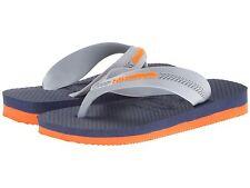 Havaianas  Flip-Flops  Navy/Grey  Size 10  Measure 6 3/4 inches Heel to Toe