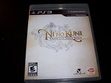 Replacement Case (NO GAME) NI no KUNI WRATH OF THE WHITE WITCH PLAYSTATION 3 PS3
